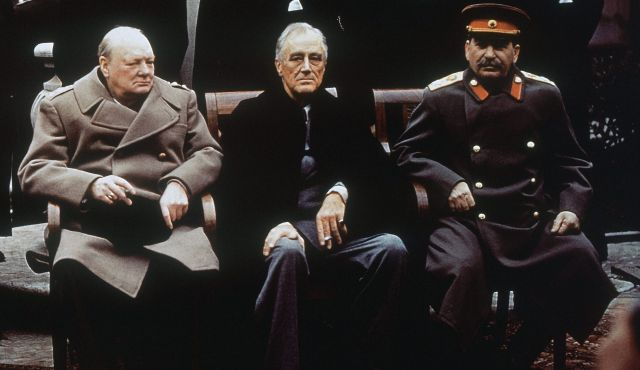 Britain-US-USSR-Churchill-Roosevelt-Stalin