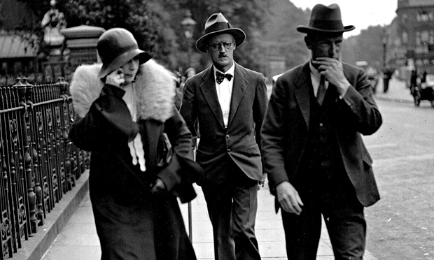 James Joyce with Nora Barnacle
